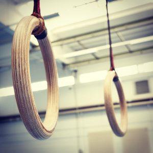 Ringe erlauben ein vollständiges Oberkörper-Training